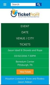 Jason Aldean, Thomas Tickets apk screenshot