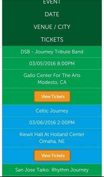 Journey & Doobie Tickets screenshot 6