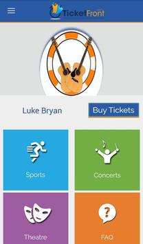 Luke Bryan & Dustin Tickets apk screenshot
