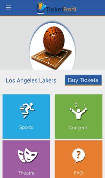 Los Angeles Lakers Tickets poster