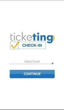 TickeTing Events: Check-In screenshot 1