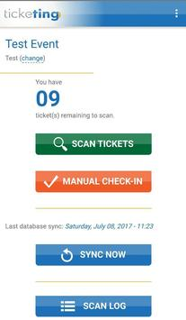 TickeTing Events: Check-In screenshot 2