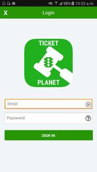 Ticket Planet screenshot 1