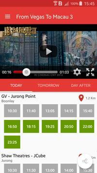 Tickets Lah SG movie showtime apk screenshot