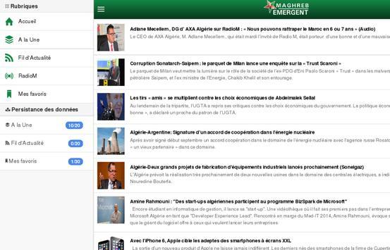 Maghreb Emergent apk screenshot