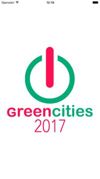 Greencities 2017 poster