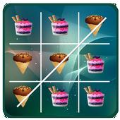 Ice Cream - tic-tac-toe icon