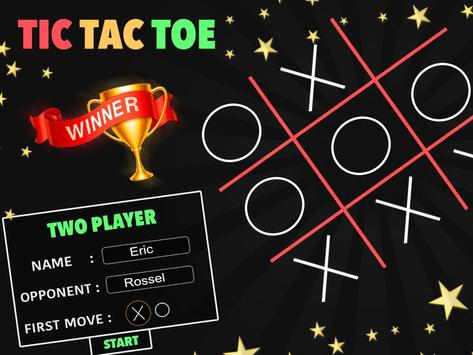 Tic Tac Toe : Neon, Glow And Emoji Themes screenshot 1