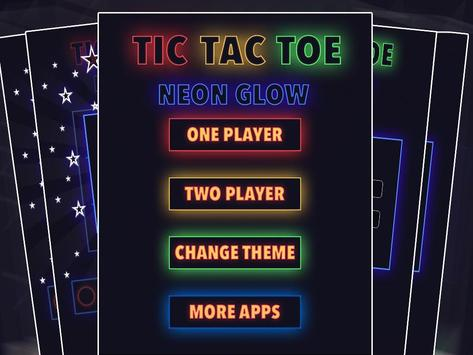 Tic Tac Toe : Neon, Glow And Emoji Themes screenshot 2