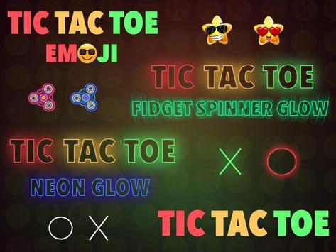 Tic Tac Toe : Neon, Glow And Emoji Themes screenshot 5