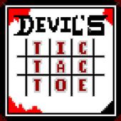 Devil's tic tac toe icon