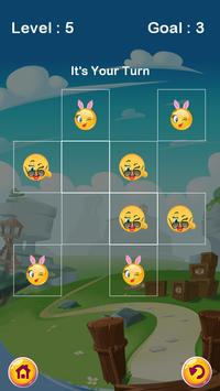 Tic Tac Toe : Flirt Emoji apk screenshot