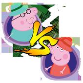 🐷TicTacToe Peppa Adventure icon