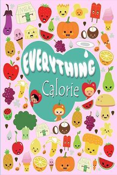 แคลอรี่ ในอาหาร poster