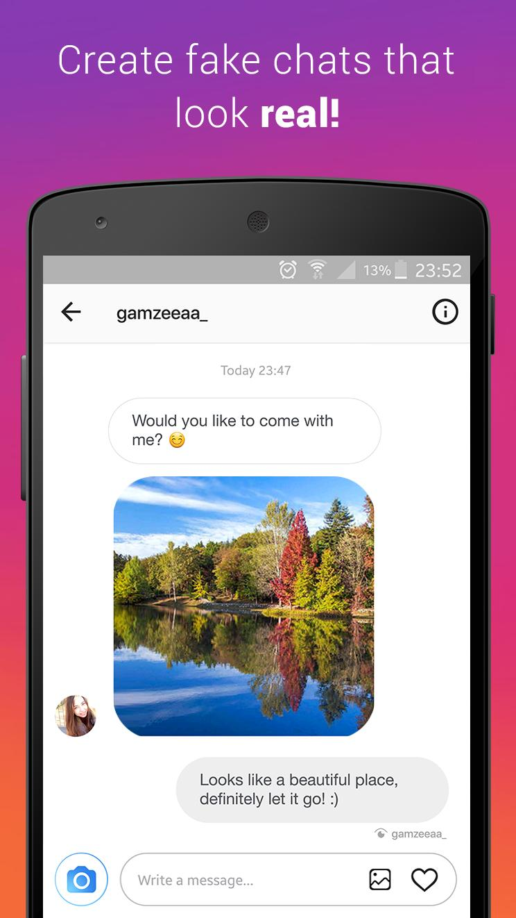 Fake Chat (Direct Message) for Android - APK Download