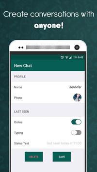 WhatsFake 2 - (Create fake chats) apk screenshot