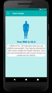 Ideal Weight - BMI Calculator apk screenshot