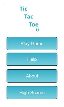 Tic Tac Toe U poster