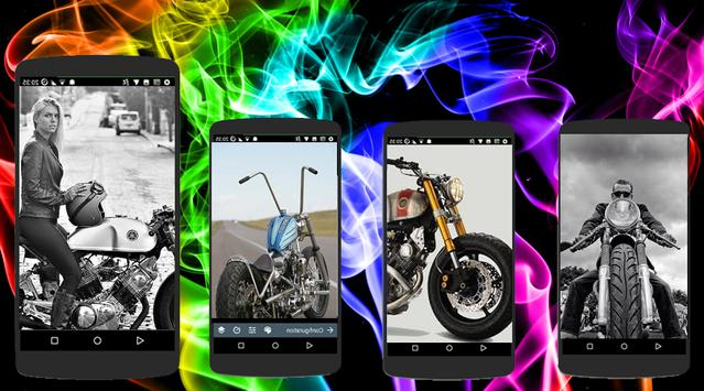 Custom Motorcycles Wallpaper Offline screenshot 1