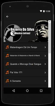 Bezerra da Silva Letras screenshot 1