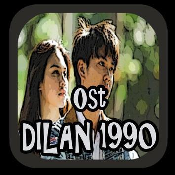 Ost Dilan 1990 poster