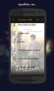 Ost Dilan 1990 screenshot 5