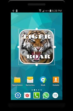 Tiger Roar Sound App & Widget screenshot 1