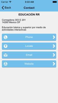 Educación RR apk screenshot