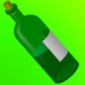 Bottle game icon