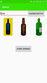 Bottle game poster