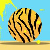 Tiger Ball - Jump ball icon