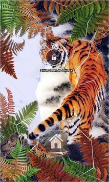 Tiger Lock Screen poster