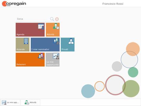 Coregain CRM apk screenshot