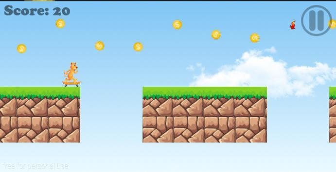 Tiger Run Adventure v2 screenshot 2