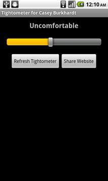 Tightometer apk screenshot