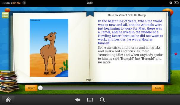 How the Camel Got Its Hump screenshot 1