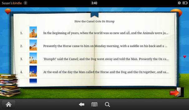 How the Camel Got Its Hump screenshot 2