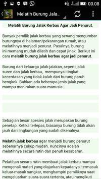 Audio Kicau Jalak Kebo/Kerbau screenshot 2