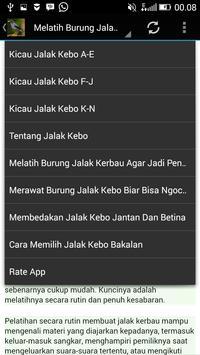 Audio Kicau Jalak Kebo/Kerbau screenshot 3