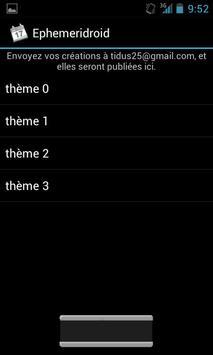 Ephemeridroid 2 (fête du jour) screenshot 4