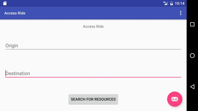 Access Ride screenshot 1