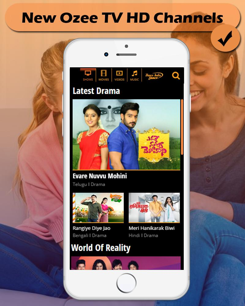 OZEE TV HD 2018 for Android - APK Download