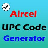 Aircel UPC Code Generator icon