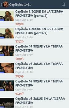 Josue y La Tierra Prometida apk screenshot
