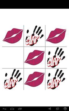 kiss or slap Tic Tac Toe apk screenshot