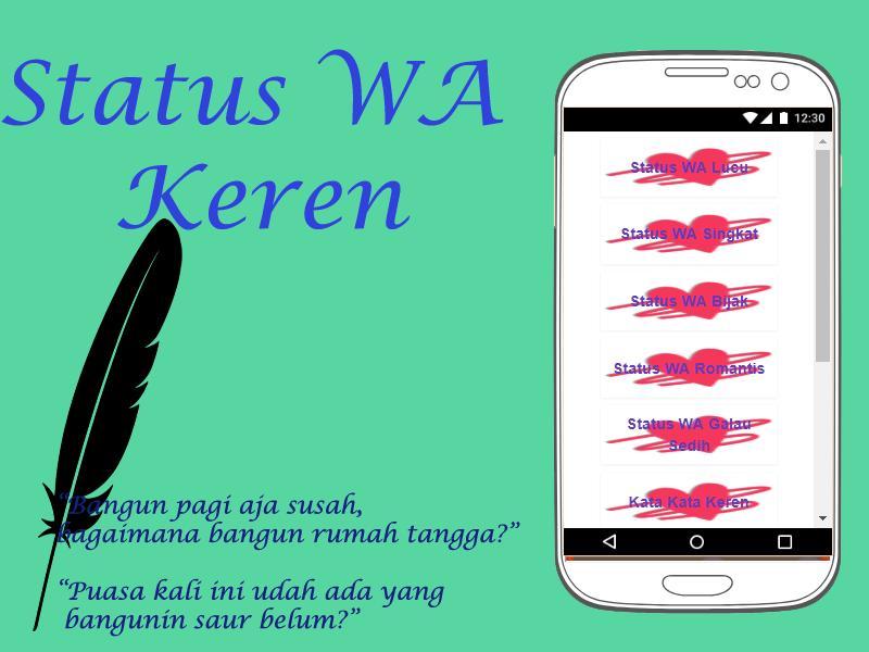 Status Wa Keren For Android Apk Download
