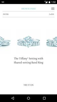 Tiffany Engagement Ring Finder poster