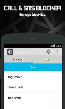 Call & SMS blocker - Blacklist screenshot 2