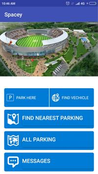 SPACY - Parking Solution (TVM City) poster
