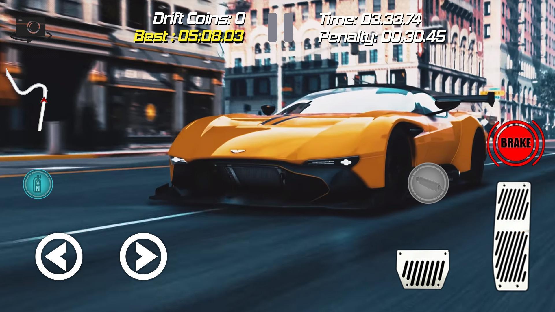 Drift Racing Aston Martin Vulcan Simulator Game For Android Apk Download
